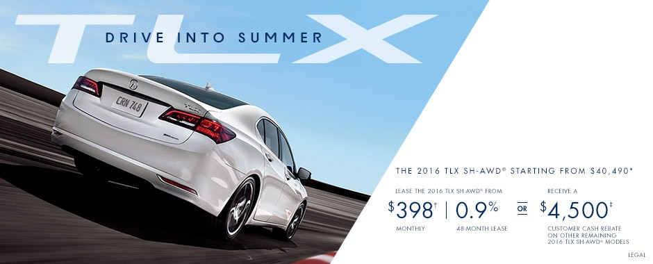 July National Special Offers TLX