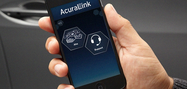 AcuraLink on a phone
