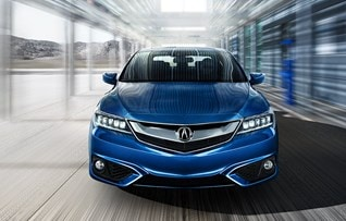 Image of blue 2017 Acura ILX