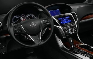 Image of 2017 Acura TLX interior
